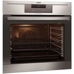 AEG BP730402KM Built-In Multifunction Electric Single Oven