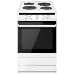 Amica 508EE1W 50cm Electric Cooker - White