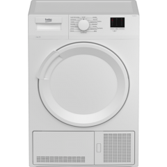 Beko DTLCE80041W 8Kg Condenser Tumble Dryer B Energy Rated