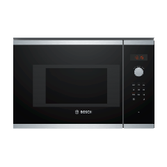 BOSCH Serie 4 BFL523MS0B Built-in Solo Microwave, Stainless Steel