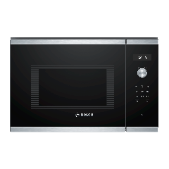 Bosch BFL554MS0B Built-In Microwave, Stainless Steel