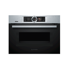 Bosch CMG676BS6B Built-In compact oven with Microwave