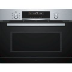 Bosch Serie 6 CPA565GS0B Built In Combination Microwave Oven, Stainless Steel