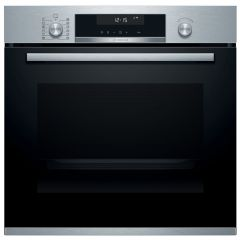 Bosch HBA5780S6B Serie 6 Pyrolytic Electronic Single Oven, Stainless Steel