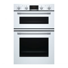 Bosch MBS533BW0B Built-In Double Oven, White