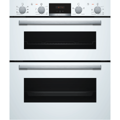 Bosch NBS533BW0B Built-In Double Oven