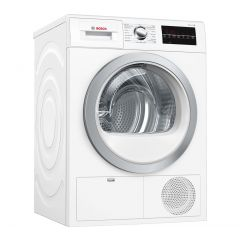 Bosch WTG86402GB Capacity 8kg, Condenser, LED Display/ jog dial, Time delay/Time remaining, Drum int