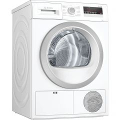 Bosch WTN85201GB Capacity 7kg, Condenser, 3 drying levels, Time delay/Time remaining, Small LED disp