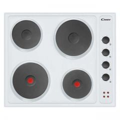 Candy CLE64W 60cm Four Zone Sealed Plate Hob