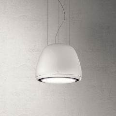 Elica DIVAWH Hood Ceiling/Wall Mounted Hood, White