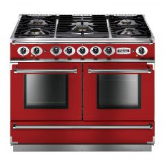 Falcon Continental 1092 FCON1092DFRD/NM-EU Dual Fuel, Cherry Red Range Cooker