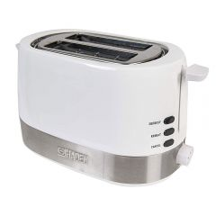 Haden 183354 Chester 2 Slice Toaster, white