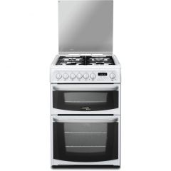 Hotpoint CH60DHWF 60cm Dual Fuel Double Oven Cooker
