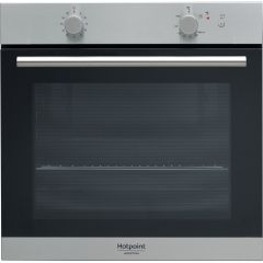 Hotpoint GA2 124 IX Built-in Gas Oven, Stainless Steel