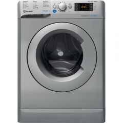 Indesit BDE 861483X S UK N Innovative Innex Washer Dryer, Silver