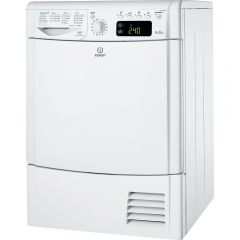 Indesit IDCE 8450 BS H (UK) 8kg Condenser Sensor Dryer