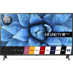 LG 50UN73006LA LED HDR 4K Ultra HD Smart TV, 50 inch with Freeview HD/Freesat HD, Ceramic Black