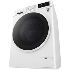 LG F4J608WN 8kg 1400 Inverter Direct Drive Washing Machine - BLUE WHITE
