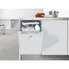 Miele G4760SCVI Fully Intergrated Dishwasher, 45Cm Slimline