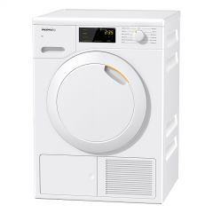 Miele TCB140 WP Heat Pump 7kg Tumble Dryer, White