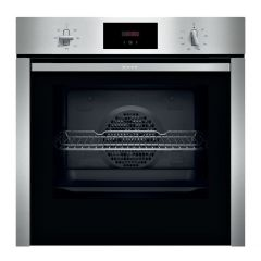 NEFF N30 B3CCC0AN0B Slide+Hide Electric Oven - Stainless Steel
