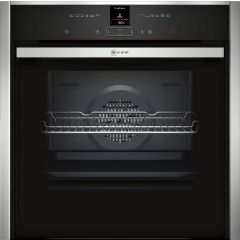 NEFF N70 B47CR32N0B Slide&Hide Electric Oven - Stainless Steel