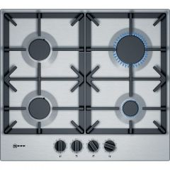Neff T26DS49N0 60cm Gas Hob - Stainless Steel