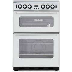 New World NH600TSIDOMS 60Cm Gas Double Oven, Silver