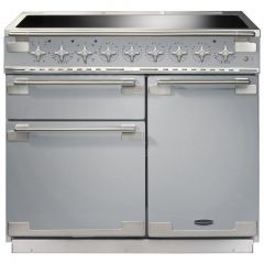 Rangemaster Elise ELS100EISS 100cm Electric Range Cooker with Induction Hob, Stainless Steel