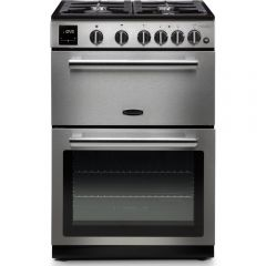 Rangemaster PROPL60NGFSS/C 128140 Professional Plus 60 NG, Stainless Steel/Chrome