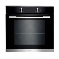 Rangemaster RMB605BL/SS Built-In Single Oven, Black