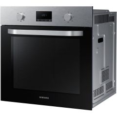 Samsung NV70K1340BS Single Oven With Clock, stainless steel
