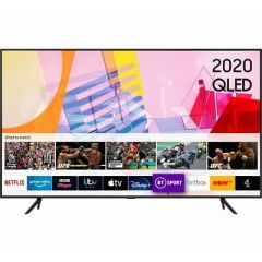 "SAMSUNG QE55Q60TAUXXU 55"" Smart 4K Ultra HD HDR QLED TV with Bixby, Alexa & Google Assistant"