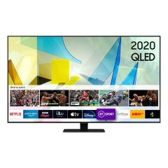 Samsung QE75Q80TATXXU 75` Qled Smart TV - A Energy Rated