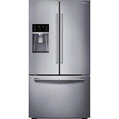 Samsung RF23HTEDBSR Side-By-Side Fridge Freezer, Stainless Steel