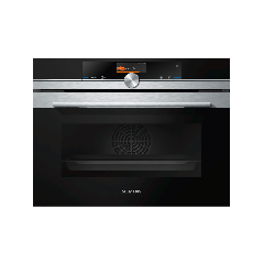 Siemens CS656GBS1B iQ700 Compact Steam Oven, Stainless Steel