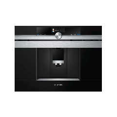 Siemens CT636LES1 Fully Automatic Coffee Machine, Stainless Steel