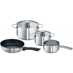 Siemens HZ390042 Set Of 3 Pots+1 Pan For Induction Hob