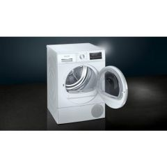 Siemens WT47RT90GB 9Kg Heat Pump Tumble Dryer White