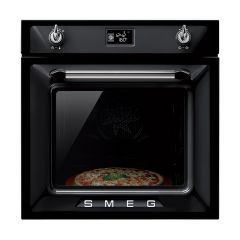 Smeg SF6922NPZE1 Black Multifunction Single Oven