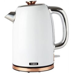 Tower T10023W 1.7L Kettle, Stainless Steel