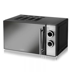 Tower T24015 800W 20L Manual Microwave, Stainless Steel