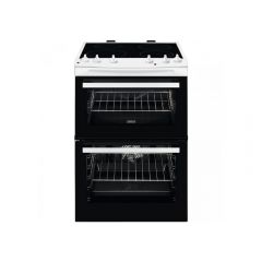 Zanussi ZCI66050WA Electric Cooker with Double Oven
