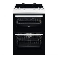ZANUSSI ZCV66050WA 60 cm Electric Ceramic Cooker