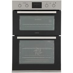 Zanussi ZOD35802XK Built In Electric Double Oven, A/A Rated, Stainless Steel