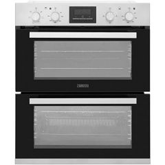 Zanussi ZOF35661XK Electric Double Oven, Stainless Steel